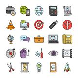 Business Icons Set stock illustration