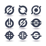 Business Icons Set Graphic Design Editable For Your Design Royalty Free Stock Photography