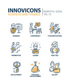 Business Icons Set Royalty Free Stock Image