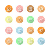 Business icons Stock Image