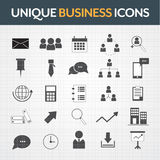 Business  icons set. Business  icons theme set Royalty Free Stock Image
