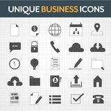 Business  icons set. Business  icons theme set Stock Images