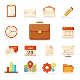 Business Icons Set - Vector - Vector royalty free illustration