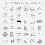Business icons. Start up and management signs. Royalty Free Stock Image