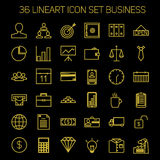 Business icons. Start up and management signs. Stock Photos
