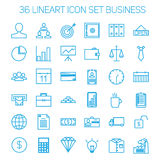 Business icons. Start up and management signs. Royalty Free Stock Images