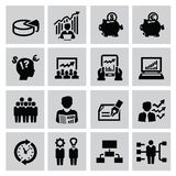 Business icons Stock Photos
