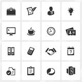 Business Icons. Business vector icons. File format is EPS8 Stock Image