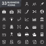 33 business icons Stock Photography