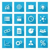 Business Icons Vector Set. Illustrations Royalty Free Stock Image