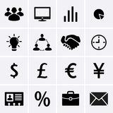 Business Icons. For web. Vector Stock Images
