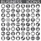 Business icons. On a white background in circles Stock Photo