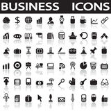 Business icons. On a white background with a shadow Royalty Free Stock Photography
