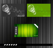 Business id card Royalty Free Stock Photos