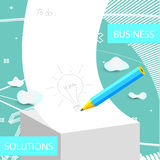 Business idea Royalty Free Stock Image