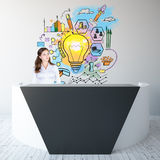 Business idea concept Stock Photography