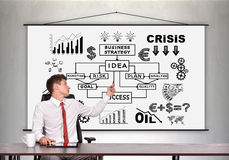 Business idea concept Royalty Free Stock Photos