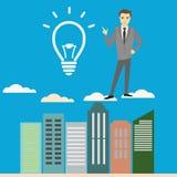Business idea concept, businessman, Stock Photos