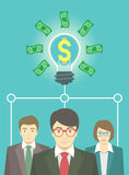 Business Idea Concept Royalty Free Stock Image