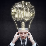 Business idea concept Royalty Free Stock Photography