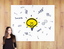 Business idea concept Royalty Free Stock Images