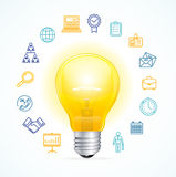 Business Idea Concept. Vector Stock Images