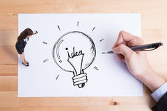 Business idea concept Stock Images