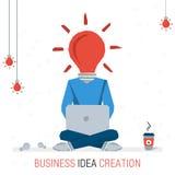 BUSINESS IDEA CREATION Stock Photos