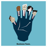 Business Idea series Business Team 7 concept Stock Photos