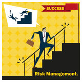 Business Idea series Risk Management concept 2 Royalty Free Stock Photography
