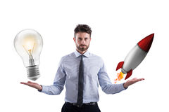 Business idea and start-up Stock Photo