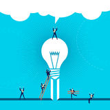 Business idea success concept illustration Royalty Free Stock Images