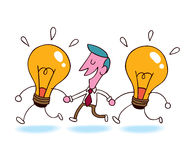 Business ideas royalty free illustration