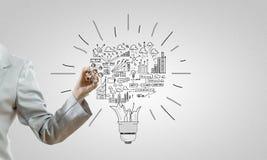 Business ideas Royalty Free Stock Photos