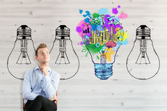Business ideas concept Stock Photography