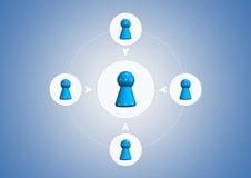Business illustration Stock Photography