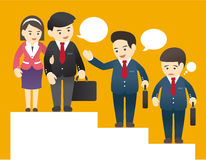 Business Illustration Stock Photo