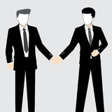 Business illustration Personnel Royalty Free Stock Photo