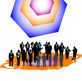 Business image royalty free illustration