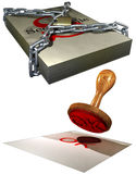 Business image set Royalty Free Stock Photo