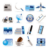 Business and industry icons Stock Photo