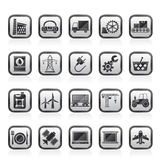 Business and industry icons Stock Image