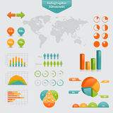 Business info graphic Stock Photo