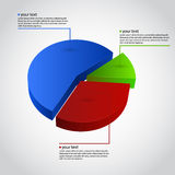 Business Info Graphic. Diagram Stock Photo