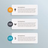 Business info graphic Royalty Free Stock Photo