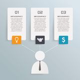 Business info graphic Stock Image