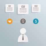 Business info graphic Stock Photos