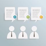 Business info-graphic Royalty Free Stock Images