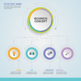 Business infographic concept -  set of infographic element Royalty Free Stock Image