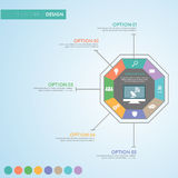 Business infographic concept -  set of infographic element Royalty Free Stock Photography